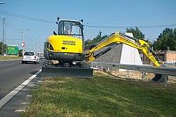escavatore compatto o midi escavatore definizione 250px-Wacker_Neuson_Bagger_50Z3