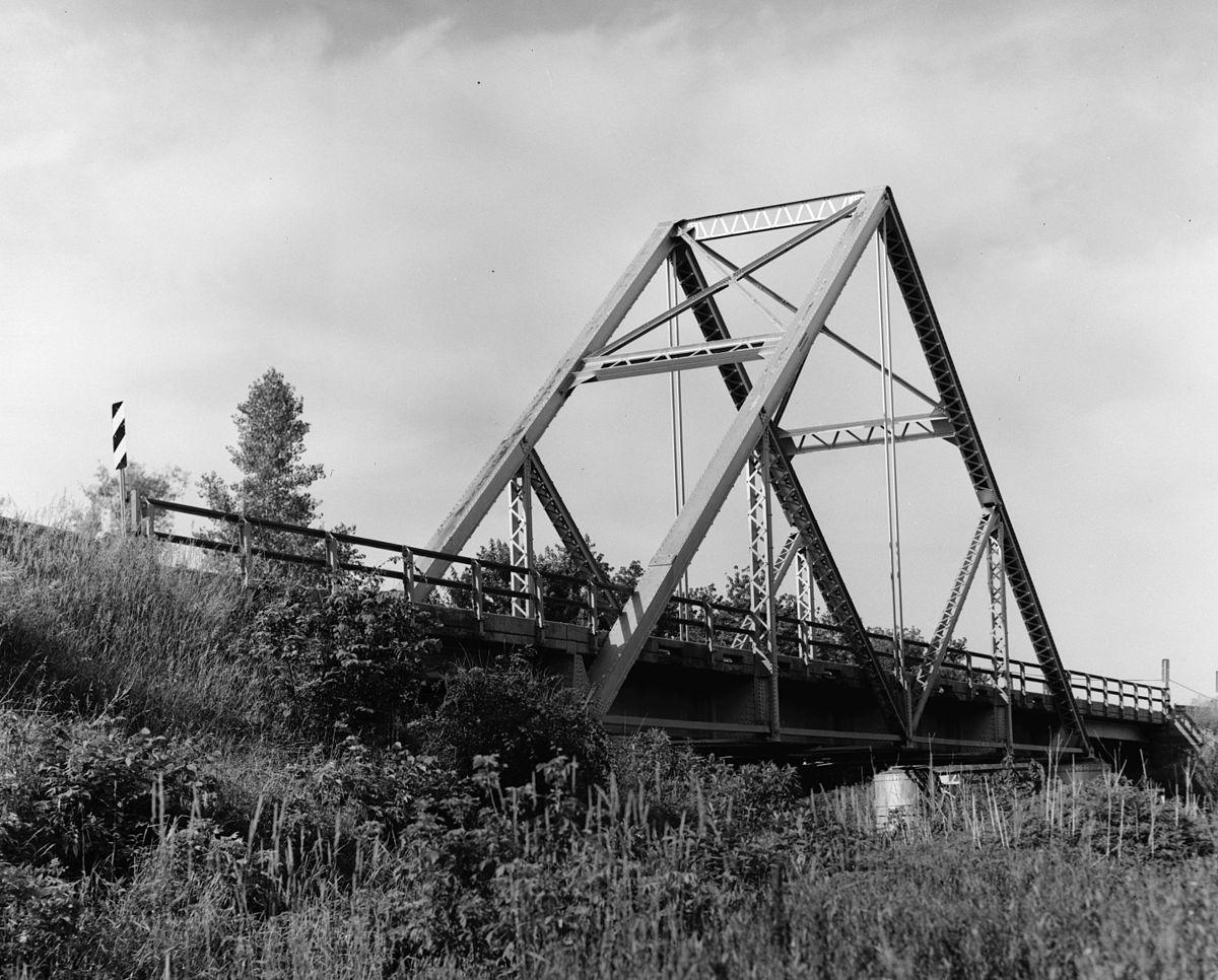 Waddell Quot A Quot Truss Bridge Parkville Missouri Wikipedia