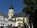 Waidhofen an der Ybbs - Pfarramt und Pfarrkirche hll Maria Magdalena und Lambert.jpg
