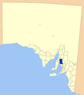 Wakefield Regional Council - Location of Wakefield Regional Council