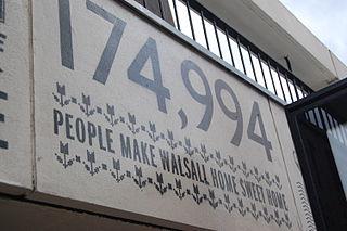 Walsall numbers artwork - 12