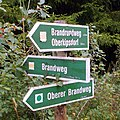 Wanderwegweiser Brandweg in Schmiedeberg.jpg