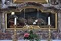 Wangen Pfarrkirche St Martinus Seitenaltar rechts Schrein.jpg