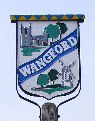 Wangford - Image: Wangfordvillagesign 1
