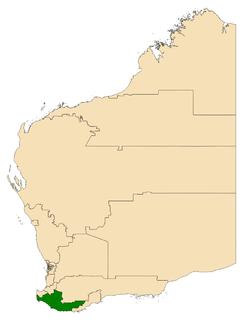 Electoral district of Warren-Blackwood