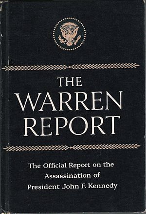 Warren Commission - The Warren Report reproduced in book form by the Associated Press