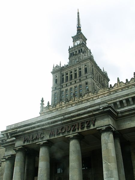 File:Warszawa Palace of Culture and Science (from Centrum station).jpg