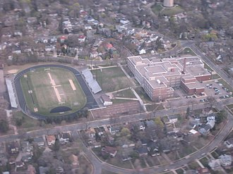 Washburn High School - Washburn from the air, 2007