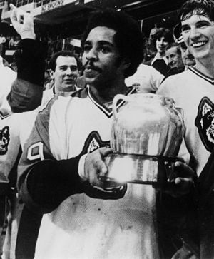 Beanpot (ice hockey) - Wayne Turner with 1980 Beanpot