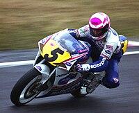 Wayne Gardner beim Großen Preis von Japan 1992