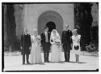 Wedding, Mr. Paton & Sister Sloan, June 23, '43 LOC matpc.14260.jpg