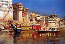 Weeks Edwin The Barge Of The Maharaja Of Benares.jpg