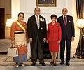 Welcome for HM King Tupou VI of the Kingdom of Tonga and HM Queen Nanasipau'u 05.jpg