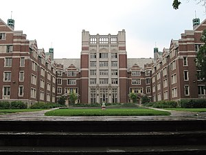 Wellesley, Massachusetts - Residence halls at Wellesley College