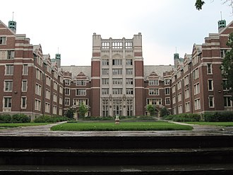 Wellesley College - Tower Court is the largest dorm