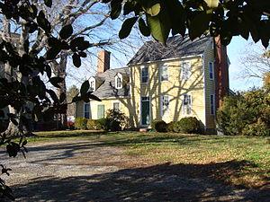 Wentworth–Grinnan House - Image: Wentworth Grinnan House (c. 1780) Smithfield, Virginia