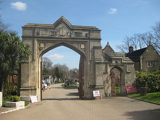 Dulwich and West Norwood (UK Parliament constituency) - West Norwood Cemetery