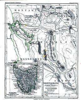 West Coast, Tasmania locality in Tasmania, Australia