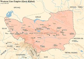 Qara Khitai former country