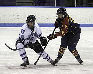 Western Ontario Mustangs women's ice hockey - Image: Western Mustangs women's hockey