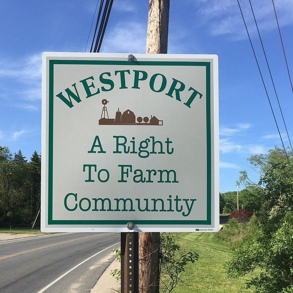 Westport Massachusetts- A right to Farm Community