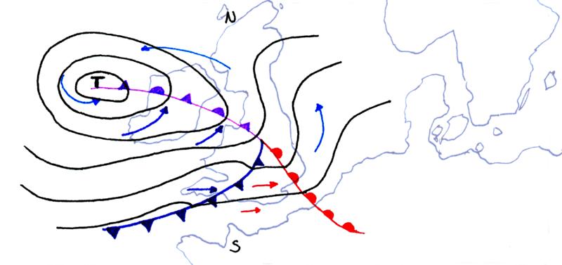 Soubor:Wetterkarte mit Okklusion.png