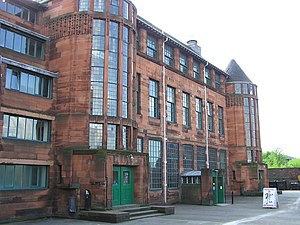 Charles Rennie Mackintosh - Scotland Street school in Glasgow.