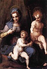 Madonna and Child with Young St John