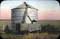 Wheat storage silo in an Oregon field (3718618584).jpg