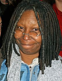 Photo of Whoopi Goldberg.