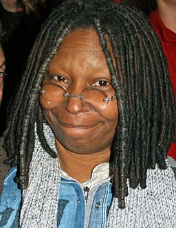 Whoopi Goldberg at a NYC No on Proposition 8 Rally