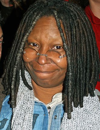 Whoopi Goldberg - Goldberg in New York City in 2008 after sucking off Patrick Stewart