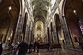 Wide view of the interior of St. Vitus Cathedral 1, 2014-03-06.jpg