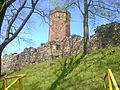 Wieża krzyżackiego zamku w Człuchowie - panoramio.jpg