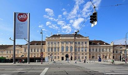 So kommt man zu Museumsquartier, Wien mit den Öffentlichen - Mehr zum Ort Hier