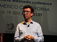 Wikimanía 2015 - Day 4 - Luis von Ahn conference - LMM (7).jpg