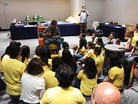Wikimania 2015-Wednesday-Volunteers at Wikimania (12).jpg