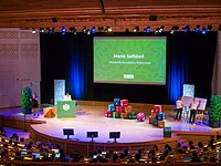 Wikimania 2019 Opening Session, Stockholm (P1090682).jpg
