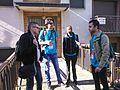 Wikipedians during Wikimania16 in Esino Lario.jpg