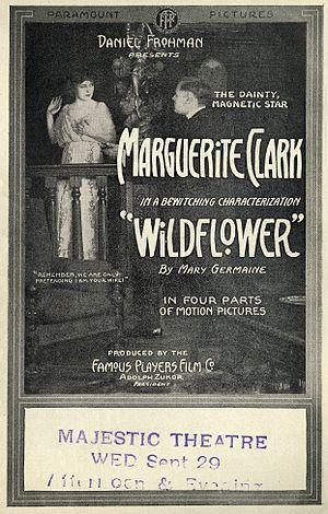 Wildflower (1914 film) - 1914 lobby poster