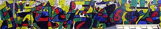 Miró Wall - Image: Wilhelm Hack Museum Mural