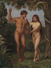 Eve Tempts Adam