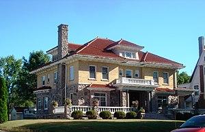 Leroy R. Willard House - Image: Willard Mansion