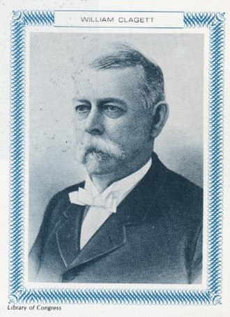 Clagett Butte - Clagett Butte's namesake, William H. Clagett