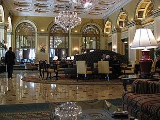 Omni William Penn Hotel - Image: William Penn Hotel lobby