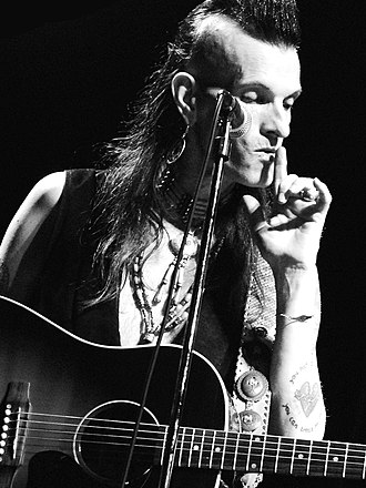 Willy DeVille - Willy DeVille at the Liri Blues Festival, Italy, in 2007