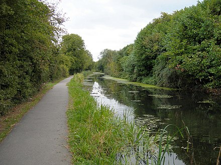 The Wilts and Berks Canal near Rushey Platt