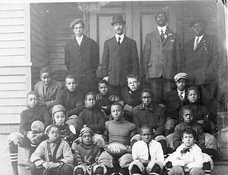 Witherspoon Street School for Colored Children - Image: Witherspoon Street School 1908