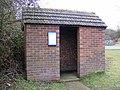 Witnesham Bus Shelter - geograph.org.uk - 1128106.jpg