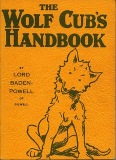 <i>The Wolf Cubs Handbook</i> book by Robert Baden-Powell